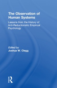 Cover Observation of Human Systems
