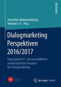 Cover Dialogmarketing Perspektiven 2016/2017