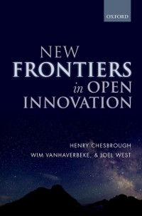 Cover New Frontiers in Open Innovation