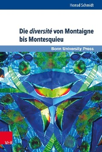 Cover Die diversité von Montaigne bis Montesquieu