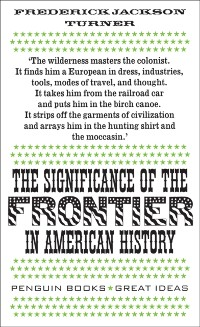 Cover Significance of the Frontier in American History