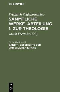 Cover Geschichte der christlichen Kirche