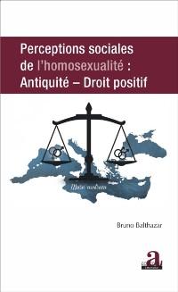 Cover PERCEPTIONS SOCIALES DE L'HOMOSEXUALITE