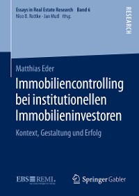 Cover Immobiliencontrolling bei institutionellen Immobilieninvestoren