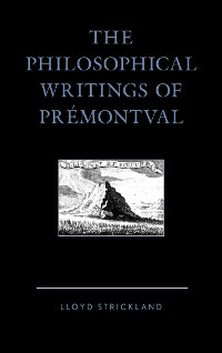 Cover The Philosophical Writings of Prémontval