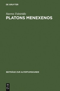 Cover Platons Menexenos