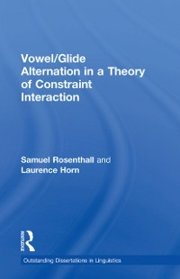 Cover Vowel/Glide Alternation in a Theory of Constraint Interaction