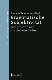 Cover Grammatische Subjektivität