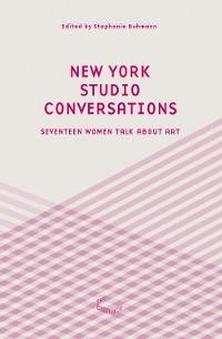 Cover New York Studio Conversations