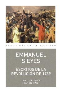 Cover Escritos de la revolución de 1789