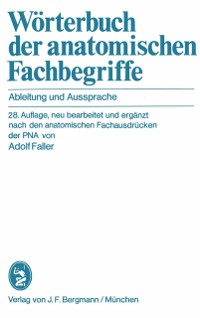 Cover Worterbuch der anatomischen Fachbegriffe