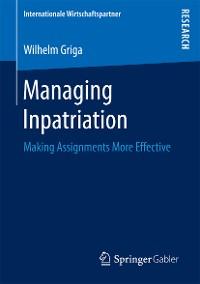 Cover Managing Inpatriation