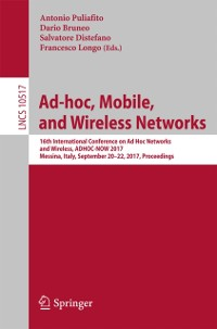 Cover Ad-hoc, Mobile, and Wireless Networks