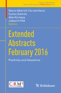 Cover Extended Abstracts February 2016