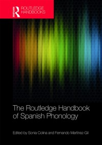 Cover Routledge Handbook of Spanish Phonology