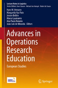 Cover Advances in Operations Research Education