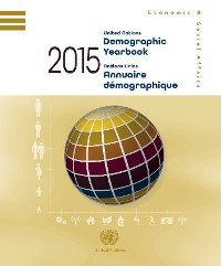 Cover United Nations Demographic Yearbook 2015/Nations Unies Annuaire démographique 2015
