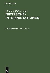Cover Über Freiheit und Chaos