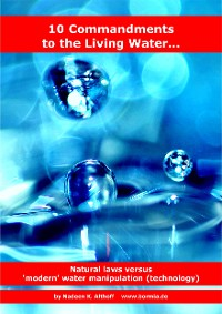 Cover 10 Commandments to the Living Water