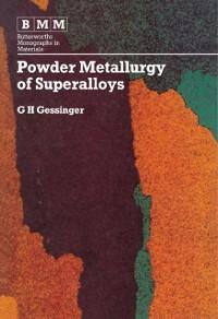 Cover Powder Metallurgy of Superalloys