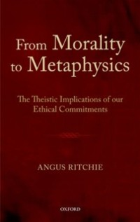 Cover From Morality to Metaphysics