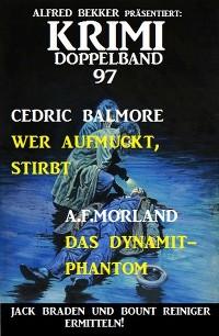 Cover Krimi Doppelband 97 - Jack Braden und Bount Reiniger ermitteln!