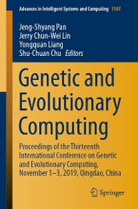 Cover Genetic and Evolutionary Computing