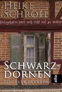Cover Schwarzdornen - Ein Altmarkkrimi