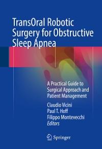 Cover TransOral Robotic Surgery for Obstructive Sleep Apnea