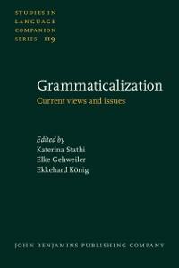 Cover Grammaticalization