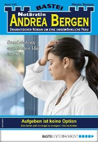 Cover Notärztin Andrea Bergen 1391 - Arztroman