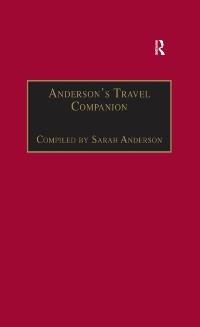 Cover Anderson's Travel Companion