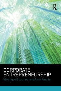 Cover Corporate Entrepreneurship