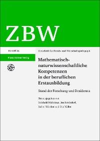 Cover Mathematisch-naturwissenschaftliche Kompetenzen in der beruflichen Erstausbildung
