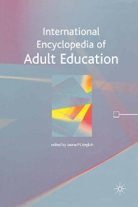 Cover International Encyclopedia of Adult Education