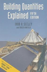 Cover Building Quantities Explained