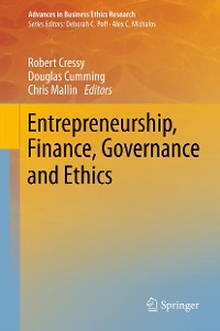 Cover Entrepreneurship, Finance, Governance and Ethics