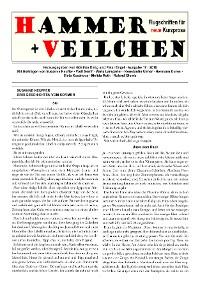 Cover Hammer + Veilchen Nr. 17