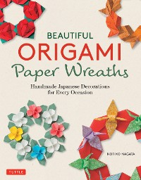Cover Beautiful Origami Paper Wreaths