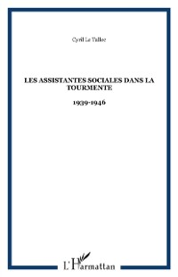 Cover Les assistantes sociales dans la tourmente