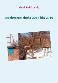 Cover Buchverzeichnis 2017 bis 2019