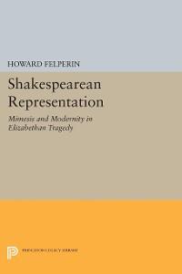 Cover Shakespearean Representation
