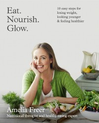 Cover Eat. Nourish. Glow.: 10 easy steps for losing weight, looking younger & feeling healthier
