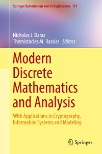Cover Modern Discrete Mathematics and Analysis