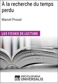 Cover À la recherche du temps perdu de Marcel Proust