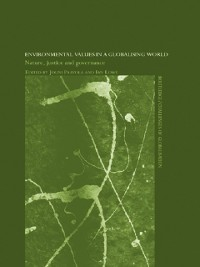 Cover Environmental Values in a Globalizing World