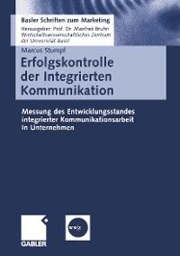 Cover Erfolgskontrolle der Integrierten Kommunikation