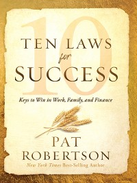 Cover Ten Laws for Success