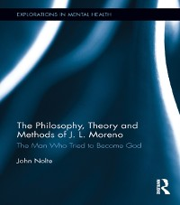 Cover Philosophy, Theory and Methods of J. L. Moreno