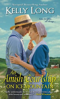 Cover An Amish Courtship on Ice Mountain